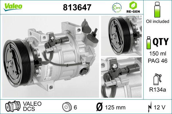 VALEO Klimakompressor 813647