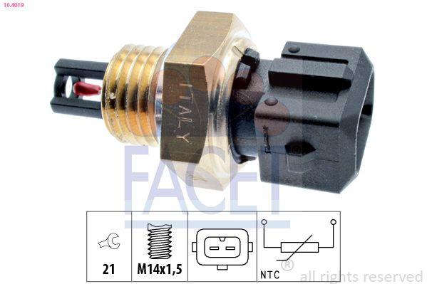 Original TOYOTA Sensor, Ansauglufttemperatur 10.4019