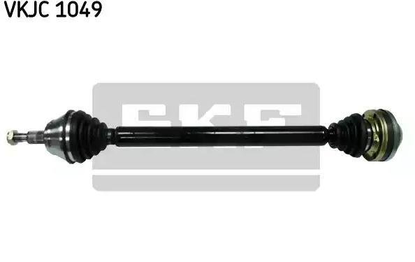 VW BORA 2001 Halbachsen - Original SKF VKJC 1049 Länge: 806mm, Außenverz.Radseite: 36