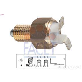 KW560214 FACET Made in Italy - OE Equivalent SW: 19 Schalter, Rückfahrleuchte 7.6214 günstig kaufen