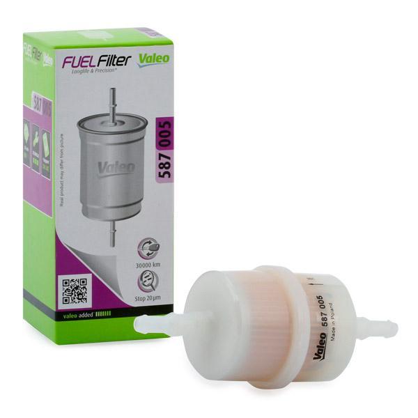 Palivový filtr 587005 s vynikajícím poměrem mezi cenou a VALEO kvalitou