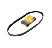 Rebrasti jermen 1 987 946 062 z izjemnim razmerjem med BOSCH ceno in zmogljivostjo