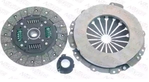 Clutch kit F1R112NX NEXUS — only new parts