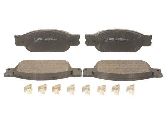FORD USA THUNDERBIRD 1999 Bremsklötze - Original ABE C1J002ABE Höhe: 58mm, Breite: 163mm, Dicke/Stärke: 17,4mm