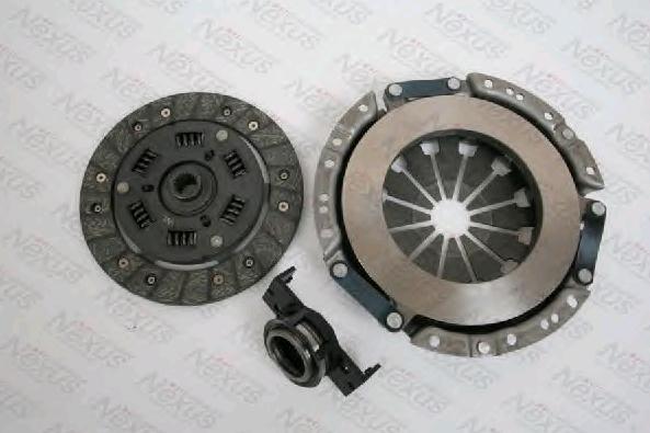 Clutch set F1F004NX NEXUS — only new parts