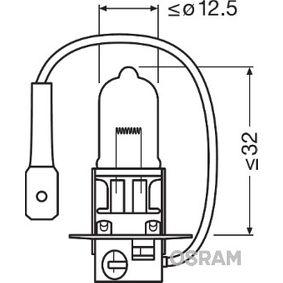 Pirkti H3 OSRAM NIGHT BREAKER UNLIMITED 55W, H3, 12V Lemputė, prožektorius 64151NBU-01B nebrangu