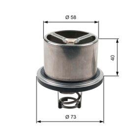 741210134 GATES Öffnungstemperatur: 82°C, ohne Gehäuse Thermostat, Kühlmittel TH07882 günstig kaufen