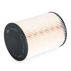 PU9003z Kuro filtras MANN-FILTER PU 9003 z Platus pasirinkimas — didelės nuolaidos
