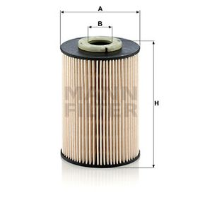PU 9003 z Kuro filtras MANN-FILTER - Pigus kokybiški produktai