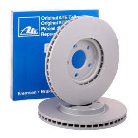 428242 ATE belüftet, beschichtet Ø: 320,0mm, Lochanzahl: 5, Bremsscheibendicke: 28,0mm Bremsscheibe 24.0128-0242.1 günstig kaufen