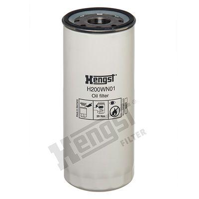 H200WN01 HENGST FILTER Filtre à huile pour VOLVO FMX II - à acheter dès maintenant