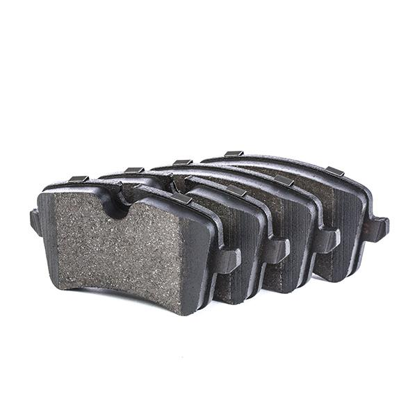 Brake Pad Set, disc brake BOSCH 0 986 494 488 Reviews