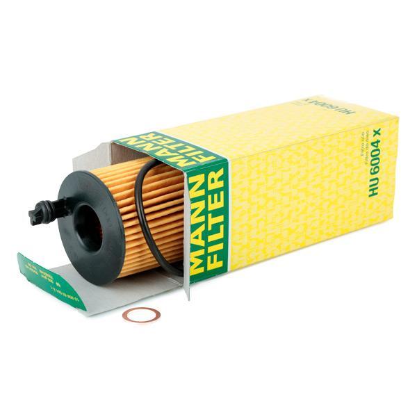 HU 6004 x Oil Filter MANN-FILTER original quality