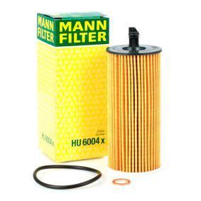 HU6004x Õlifilter MANN-FILTER - Soodsate hindadega kogemus