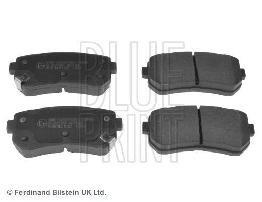 BLUE PRINT Brake Pad Set, disc brake ADG042132