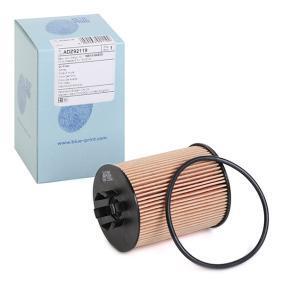 ADZ92119 BLUE PRINT Filtereinsatz Innendurchmesser: 30,5mm, Ø: 62,0mm, Höhe: 89mm Ölfilter ADZ92119 günstig kaufen