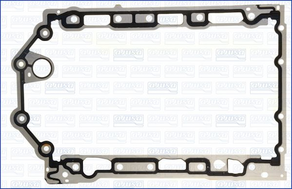 01112000 AJUSA NBR (Nitril-Butadien-Kautschuk)/ACM (Polyacryl-Kautschuk) Länge: 411mm Dichtung, Ölwanne 01112000 günstig kaufen