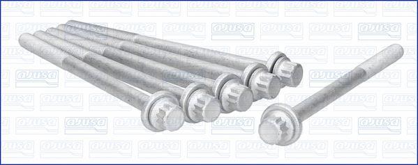 AJUSA: Original Zylinderschrauben 81048800 (Länge: 173mm, Gewindemaß: M11)