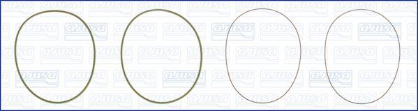 60008000 AJUSA O-Ring Set, cylinder sleeve: buy inexpensively
