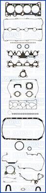 Ajusa 50128100 Full Gasket Set engine