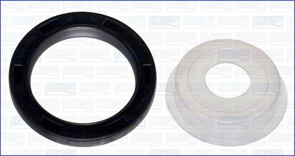 AJUSA: Original Kurbelwellendichtring 15082400 (Innendurchmesser: 48mm, Ø: 65mm)