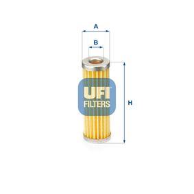 26.680.00 UFI Höhe: 86,5mm Kraftstofffilter 26.680.00 günstig kaufen