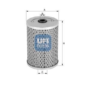 Moto UFI Innendurchmesser 2: 11,5mm, Ø: 50,0mm, Höhe: 36,0mm Ölfilter 25.542.00 günstig kaufen