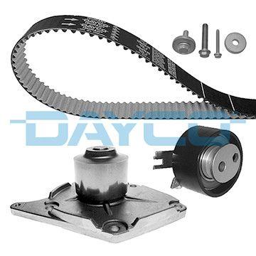 Pieces detachees RENAULT DUSTER 2012 : Kit de distribution + pompe à eau DAYCO KTBWP5320 - Achetez tout de suite!