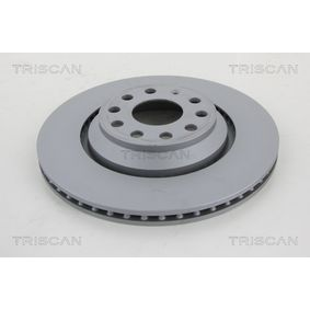 8120 291002C TRISCAN Vented, Coated Ø: 310mm, Num. of holes: 5, Brake Disc Thickness: 22mm Brake Disc 8120 291002C cheap