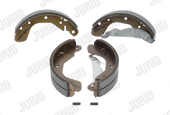 362218 JURID ohne Zubehör Trommel-Ø: 200mm, Dicke/Stärke: 5mm, Breite: 46mm Bremsbackensatz 362218J günstig kaufen