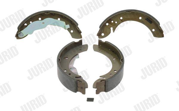 362225 JURID mit Zubehör Trommel-Ø: 229mm, Dicke/Stärke: 5mm, Breite: 40mm Bremsbackensatz 362225J günstig kaufen