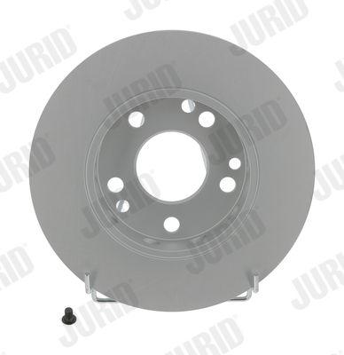 MERCEDES-BENZ 170 1956 Tuning - Original JURID 561330JC Ø: 262mm, Lochanzahl: 5, Bremsscheibendicke: 11mm