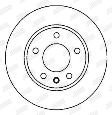 VW Disques de frein d'Origine 562041JC