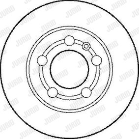 Brake Disc 562177JC at a discount — buy now!