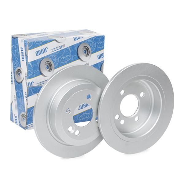 562194 JURID Voll, beschichtet, ohne Schrauben Ø: 259mm, Lochanzahl: 4, Bremsscheibendicke: 10mm Bremsscheibe 562194JC günstig kaufen