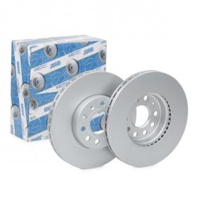 562235 JURID Vented, Coated, with screws Ø: 288mm, Num. of holes: 5, Brake Disc Thickness: 25mm Brake Disc 562235JC cheap