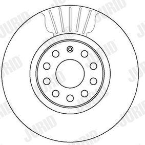 562387JC Disco de freno JURID - Productos de marca económicos