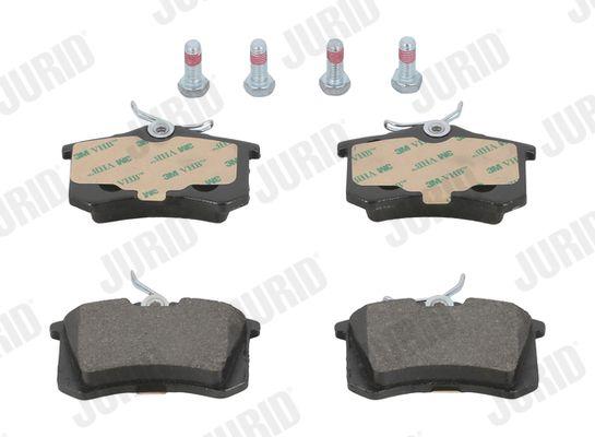 571361 JURID nicht für Verschleißwarnanzeiger vorbereitet, mit Zubehör Höhe 1: 53mm, Dicke/Stärke: 15mm Bremsbelagsatz, Scheibenbremse 571361J günstig kaufen