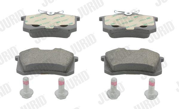 573005 JURID nicht für Verschleißwarnanzeiger vorbereitet, mit Zubehör Höhe 1: 53mm, Dicke/Stärke: 16,1mm Bremsbelagsatz, Scheibenbremse 573005J günstig kaufen