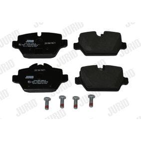 573136J Bremsbeläge JURID 23624 - Große Auswahl - stark reduziert