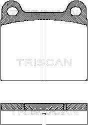 Bremssteine TRISCAN 8110 10201