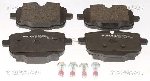 TRISCAN Bremsbelagsatz, Scheibenbremse 8110 11043