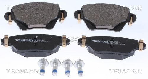 TRISCAN Bremsbelagsatz, Scheibenbremse 8110 16006