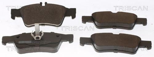 Bremsbelagsatz Scheibenbremse TRISCAN 8110 23036