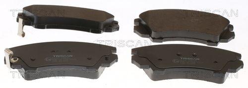 Scheibenbremsbeläge TRISCAN 8110 24035