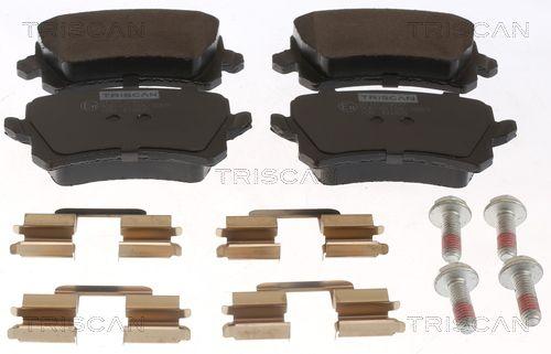 TRISCAN Brake Pad Set, disc brake 8110 29077