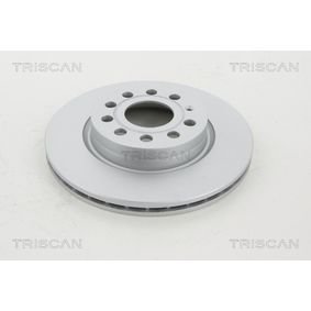 8120 29171C TRISCAN COATED ventilado, revestido Ø: 280mm, Núm. orificios: 5, Espesor disco freno: 22mm Disco de freno 8120 29171C a buen precio