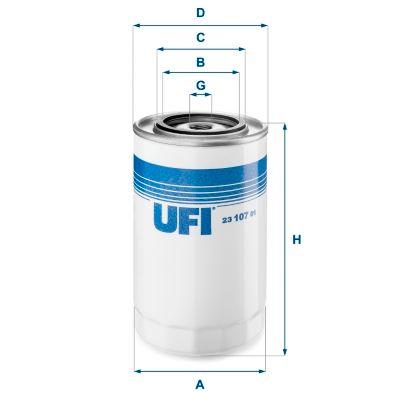 Ölfilter UFI 23.107.01