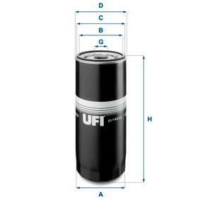 UFI Oljefilter 23.144.00 - köp med 25% rabatt