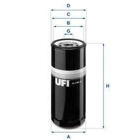 UFI Oljefilter 23.144.02 - köp med 30% rabatt